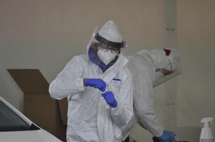 Testy na koronawirusa w Poznaniu. Zdjęcie ilustracyjne /WALDEMAR WYLEGALSKI/POLSKA PRESS /East News