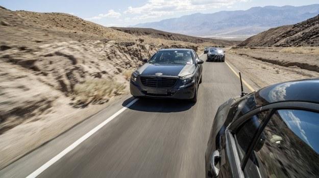 Testy nowej generacji Mercedesa klasy S (oznaczenie W222) /Mercedes