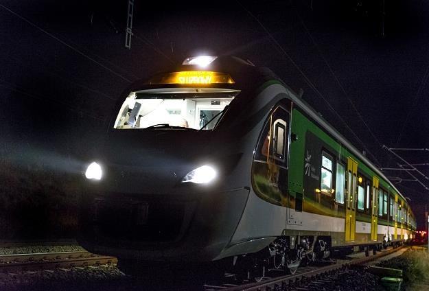 Testy pociągu Impuls 45WE, połączone z próbą bicia rekordu prędkości, fot. Andrzej Grygiel /PAP