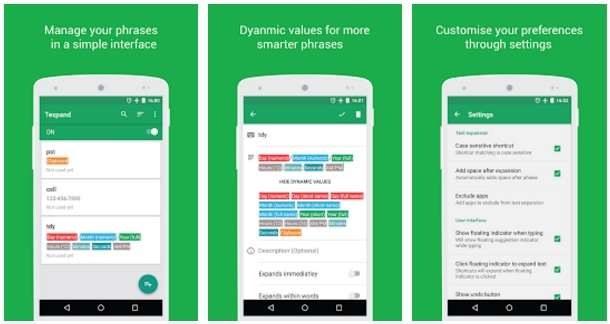 Texpand – Text Expander - ciekawa aplikacja umożliwiająca szybsze pisanie na klawiaturze /android.com.pl