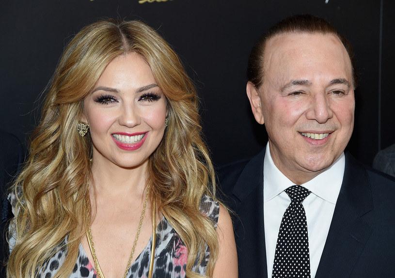 Thalia i Tommy Mottola /Jamie McCarthy /Getty Images