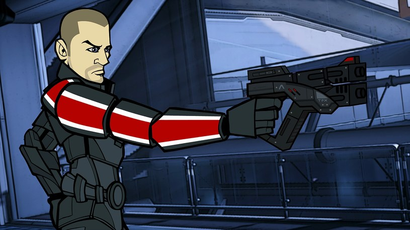 The Adventures of Commander Shepard /materiały prasowe