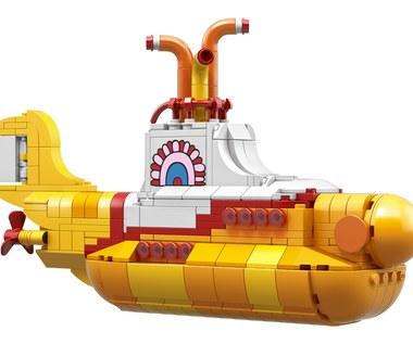 The Beatles i żółta łódź podwodna w wersji LEGO