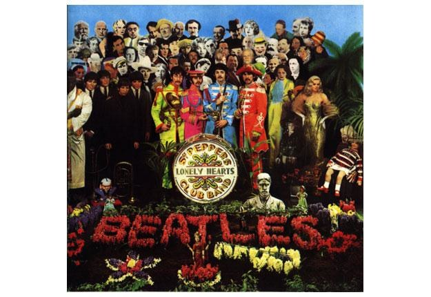 "The Beatles na okładce ""Sgt. Pepper's Lonely Hearts Club Band"" /"