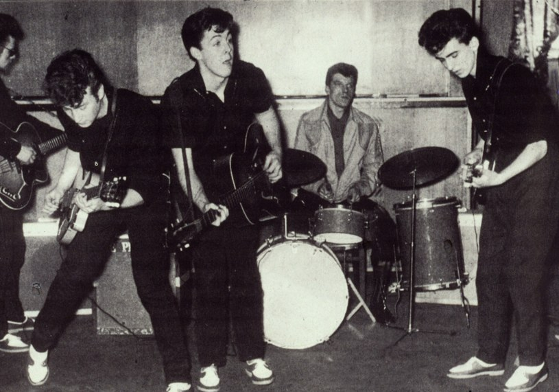 The Beatles w 1960 roku /Courtesy Everett Collection /East News