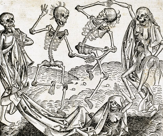The Dance of Death (1493). Autor: Michael Wolgemu /Prismaarchivo /PAP/DPA