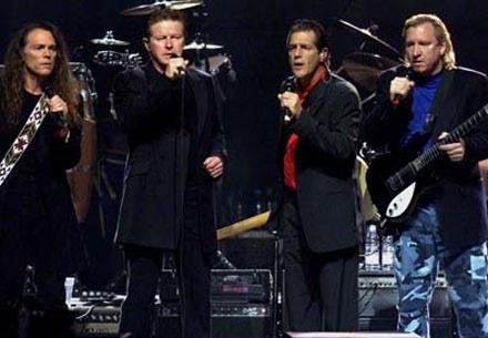 The Eagles (Don Henley drugi z lewej) /arch. AFP