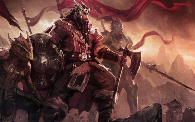 The Elder Scrolls Online - motyw graficzny /