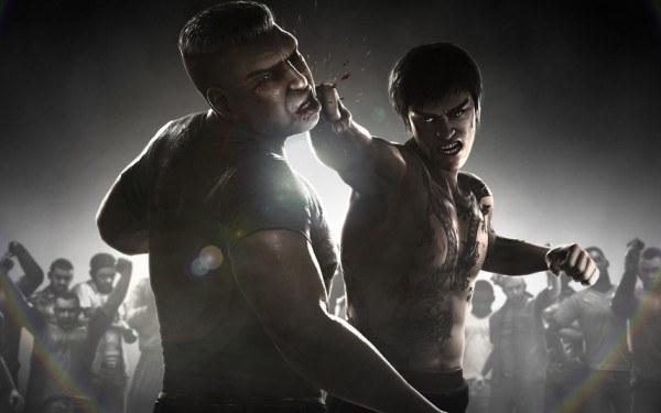 The Fight: Lights Out - motyw graficzny /Informacja prasowa