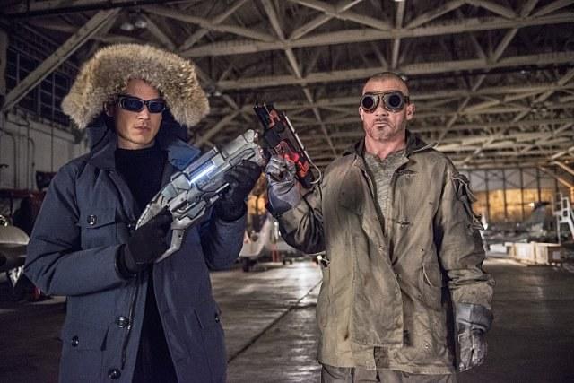 """""""The Flash""""(2014 -): Powrót Millera na mały ekran i ponowne spotkanie z Purcellem, kolegą z planu """"Skazanego..."""" /CW /materiały prasowe"""