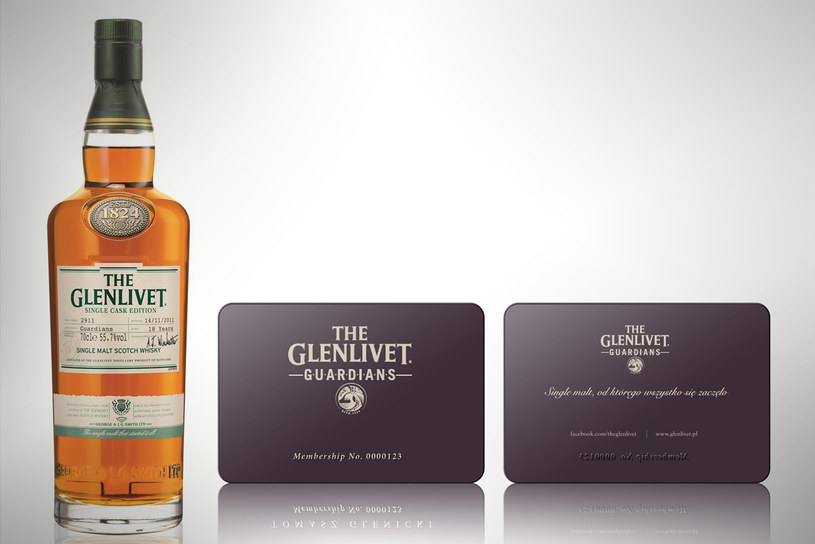 The Glenlivet zaprasza do projektu swoich miłośników /materiały prasowe