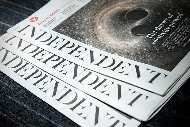 """""""The Independent"""" zniknie z kiosków /AFP"""