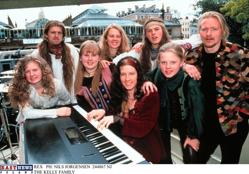 The Kelly Family w latach 90. /Rex Features/NILS JORGENSEN /East News
