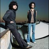 The Mars Volta (Omar Rodriguez-Lopez z prawej) /