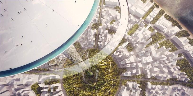 The Mile będzie jednym z najbardziej zaawansowanych budynków świata. Ale czy naprawdę powstanie? /materiały prasowe