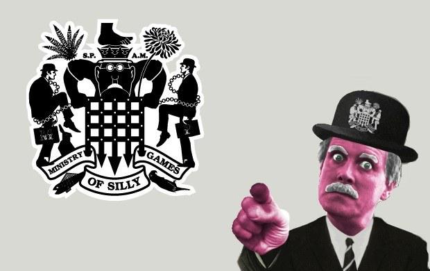 The Ministry of Silly Games - motyw graficzny /Informacja prasowa