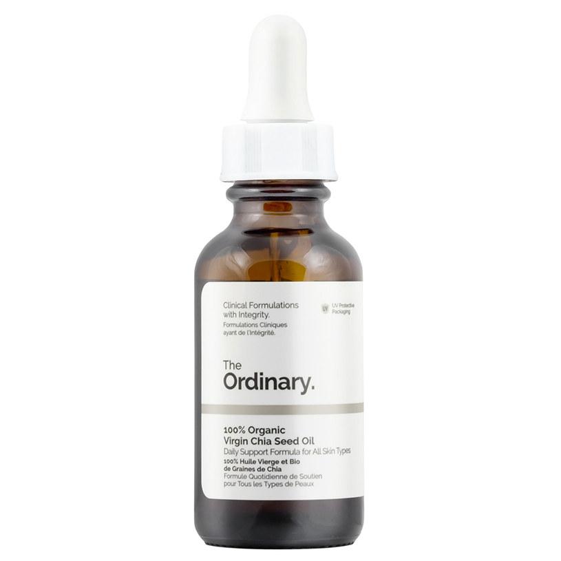 The Ordinary – 100% Organic Virgin Chia Seed Oil – Organiczny olej z nasion chia /INTERIA.PL/materiały prasowe