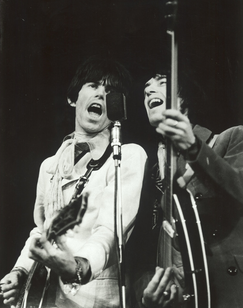 The Rolling Stones w Warszawie w 1967 roku /Karewicz /AKPA