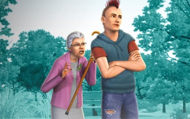The Sims 3: Pokolenia - motyw graficzny /Informacja prasowa