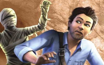 The Sims 3: Wymarzone podróże - fragment okładki z gry /Informacja prasowa
