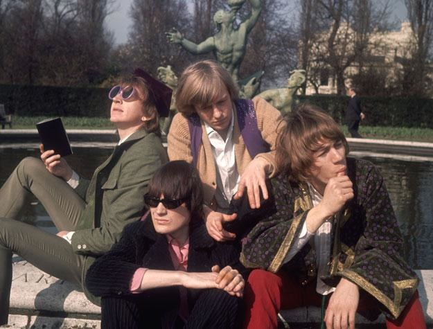 The Soft Machine w 1967 roku (Kevin Ayers pierwszy z prawej) fot. Hulton Archive /Getty Images/Flash Press Media