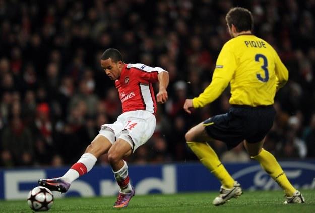 Theo Walcott dał Arsenalowi sygnał do ataku /AFP