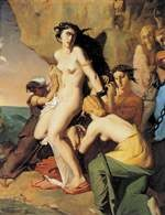 Théodore Chassériau, Andromeda i nereidy, 1840 /Encyklopedia Internautica