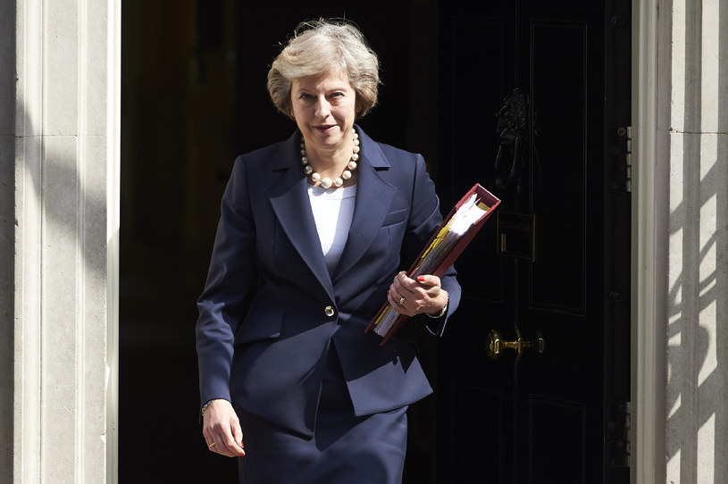 Theresa May, brytyjska premier /AFP