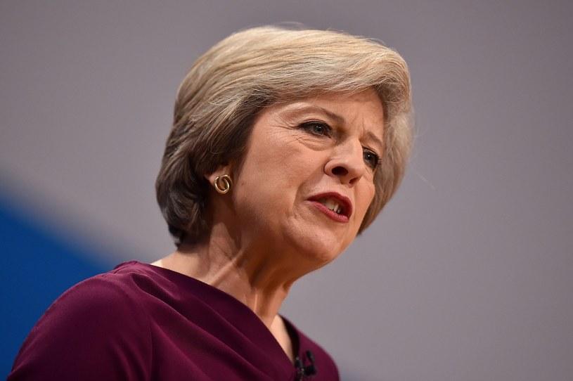 Theresa May jedzie na spotkanie z Barackiem Obamą /AFP /East News