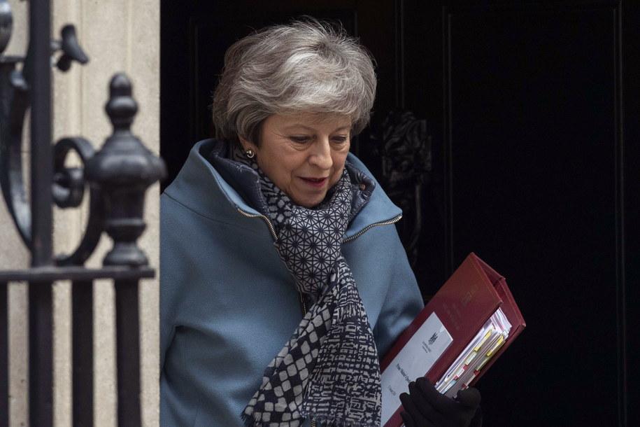 Theresa May jest zirytowana działaniem opozycji /WILL OLIVER  /PAP
