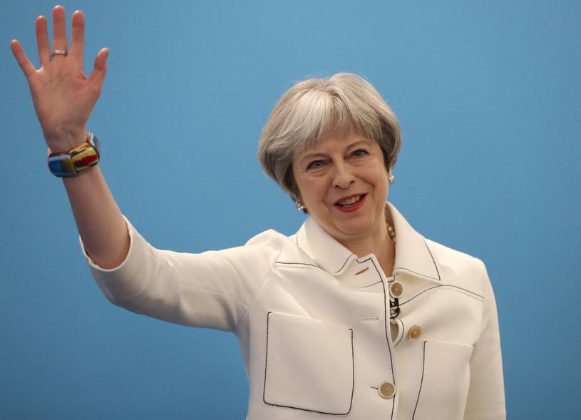 """Theresa May podziękowała za """"stanowcze wsparcie"""" ze strony Polski /SIMON DAWSON /AFP"""