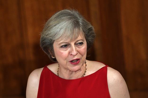 Theresa May, premier W. Brytanii. Fot. Carl Court /Getty Images/Flash Press Media