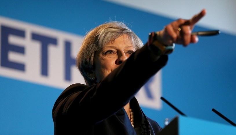 Theresa May, premier Wielkiej Brytanii /PAP/EPA