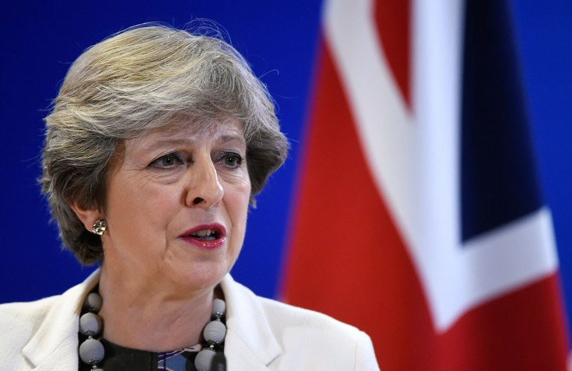 Theresa May, premier Wielkiej Brytanii /JOHN THYS / AFP /Agencja SE/East News