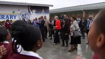 Theresa May z wizytą w Kapsztadzie