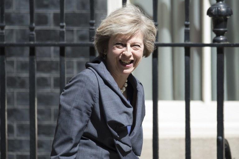 Theresa May /OLI SCARFF / AFP /AFP
