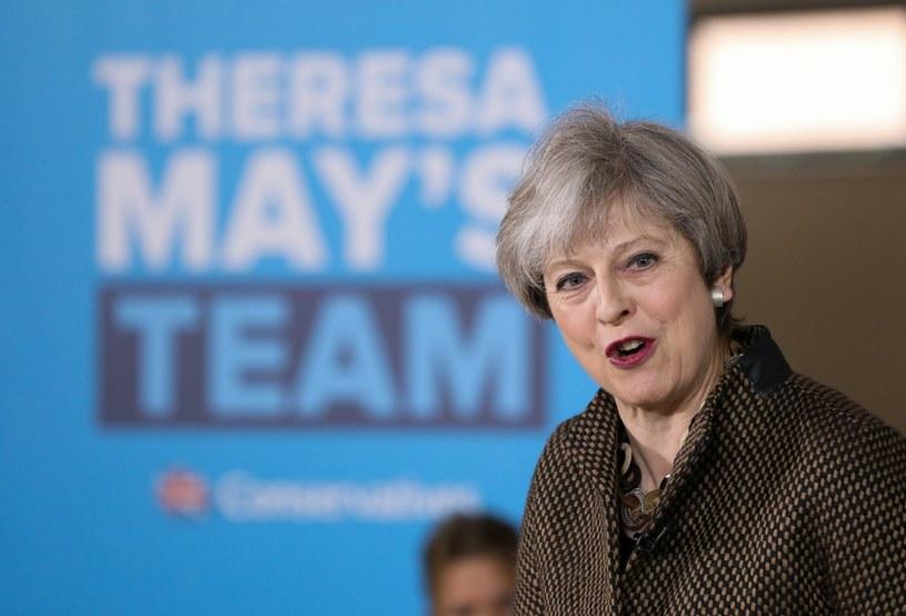 Theresa May /CHRIS RATCLIFFE /PAP/EPA