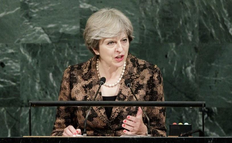 Theresa May /JUSTIN LANE /PAP/EPA