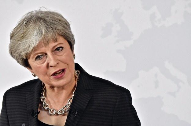 Theresa May /MAURIZIO DEGL'INNOCENTI / POOL /PAP/EPA