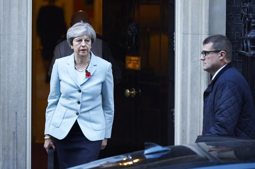 Theresa May /NIKLAS HALLE'N /AFP