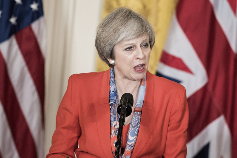 Theresa May /Brendan Smialowski /AFP