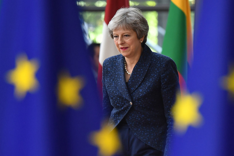 Theresa May /BEN STANSALL /AFP