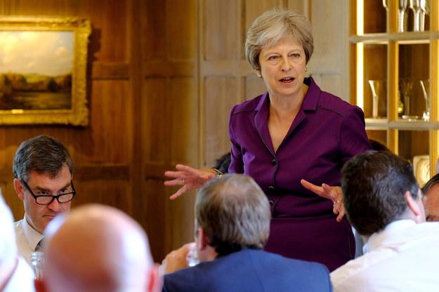 Theresa May /JOEL ROUSE / 10 DOWNING STREET / HANDOUT /PAP/EPA