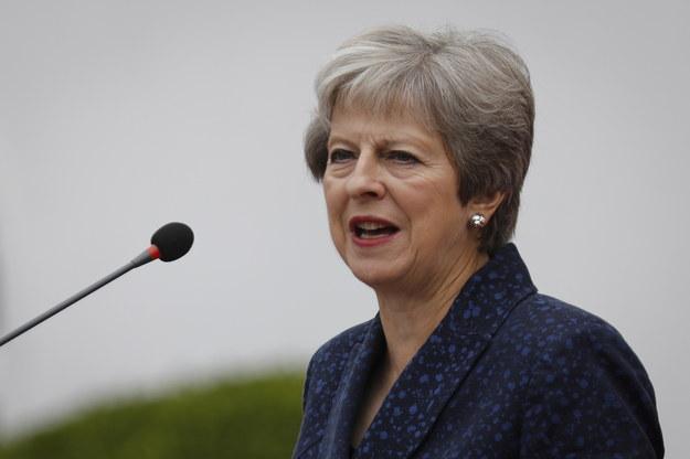 Theresa May /DAI KUROKAWA /PAP/EPA