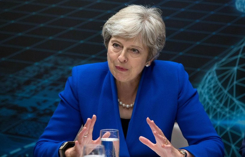 Theresa May /POOL AARON CHOWN /AFP