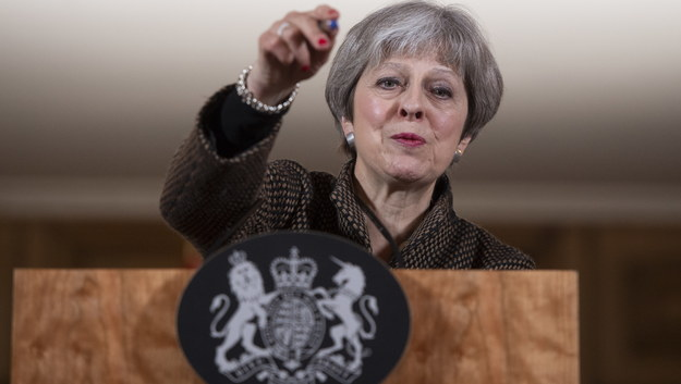 Theresa May /WILL OLIVER / POOL /PAP/EPA