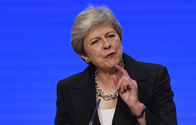 Theresa May /NEIL HALL /PAP/EPA
