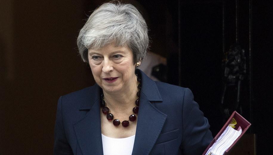 Theresa May /FACUNDO ARRIZABALAGA /PAP/EPA