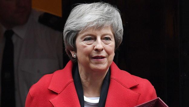 Theresa May /ANDY RAIN /PAP/EPA