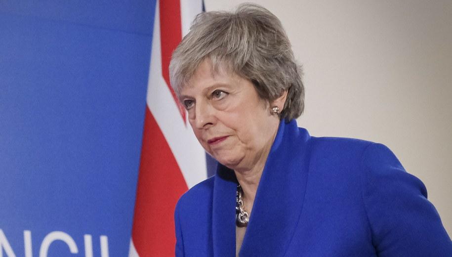 Theresa May /OLIVIER HOSLET /PAP/EPA
